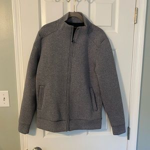 Banana republic activewear scuba zip jacket small